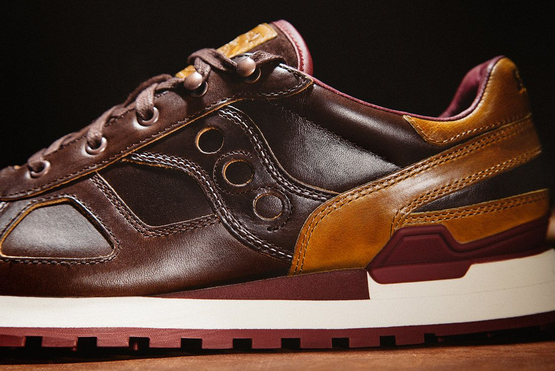 Saucony Wolverine Shadow Brown Leather 1000 Mile Boot 2