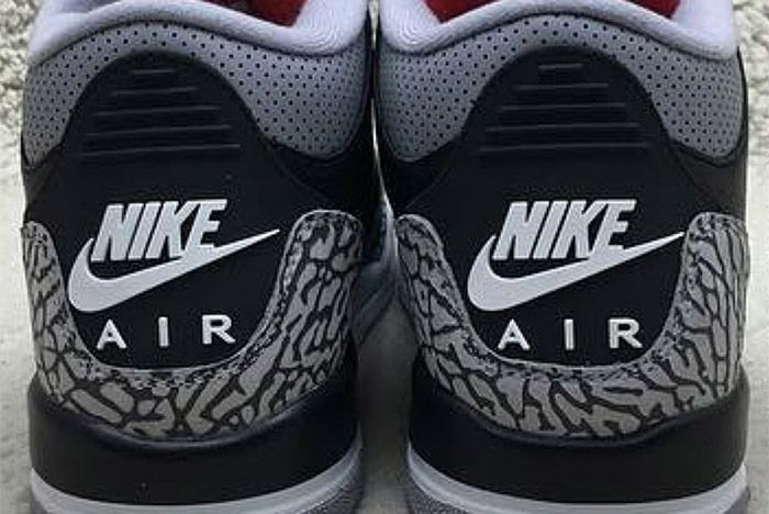 Air Jordan 3 Black Cement Retro 4