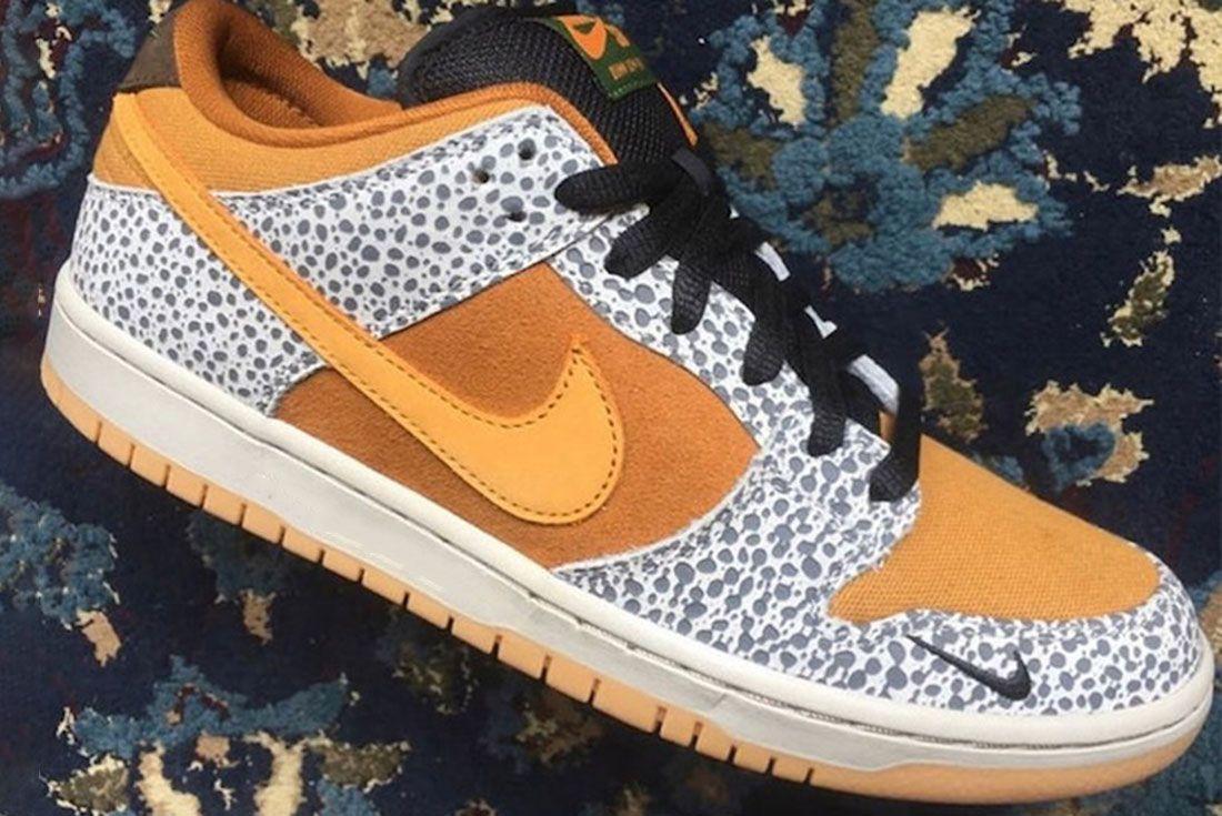 Nike Sb Dunk Low Safari Release Date Side