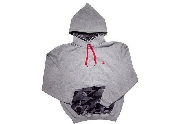 Pullover Hooded Sweatshirt 699 Grey 1