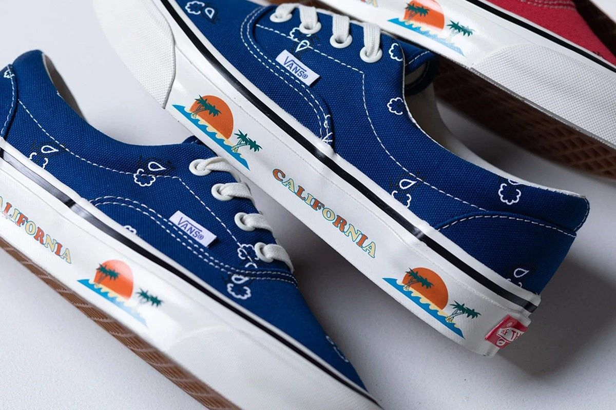 Vans OG Era LX Paisley Blue Top