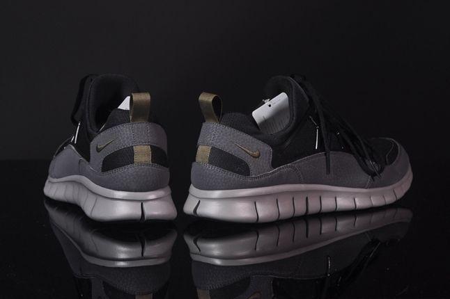 Nike Free Hua Light Scwarz Grau Heel Detail 1