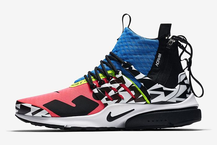 Acronym Nike Air Presto Mid Racer Pink Photo Blue 2