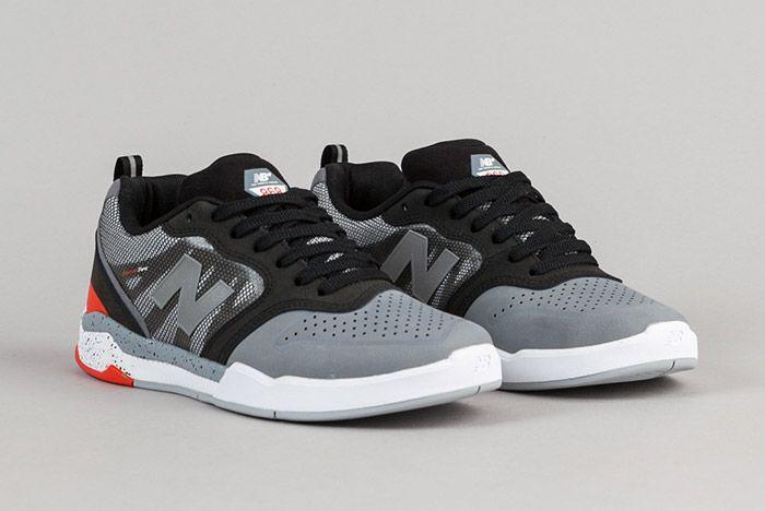 New Balance Numeric 868 Grey Black 6