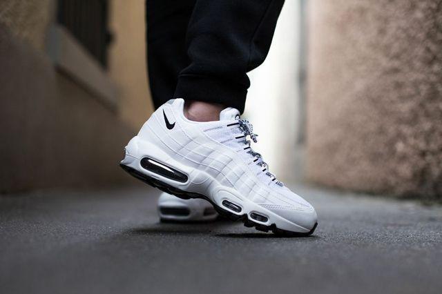 Nike Air Max 95 Pure White Black 3