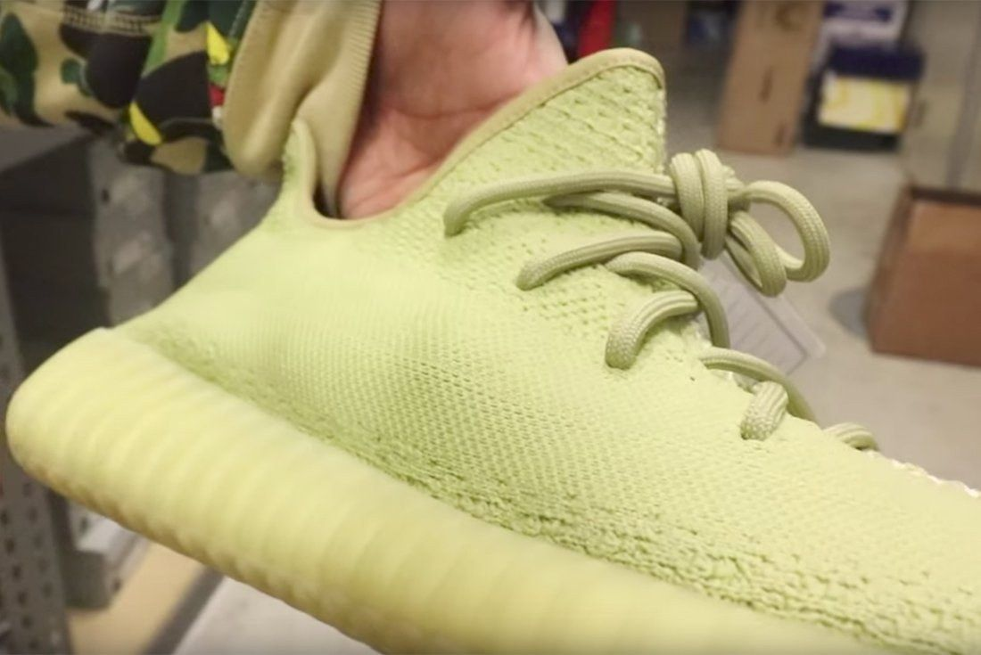 First Look Moss Yeezy Boost 350 V2S Valued At 17000 3