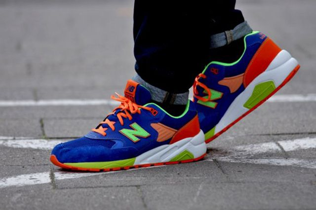 New Balance Mrt580 Bm Grey Turquoise Apple Pink 1