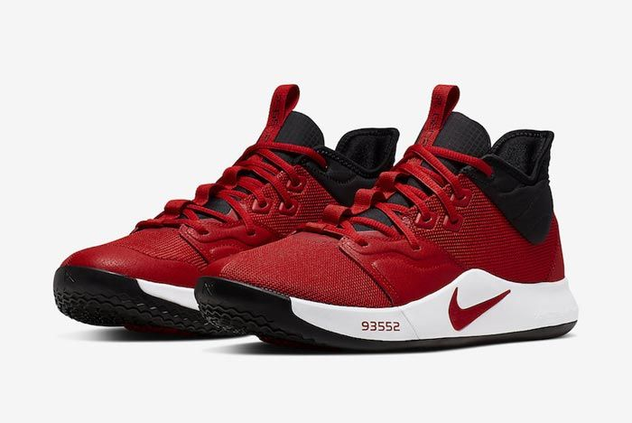 Nike Pg3 University Red Pair