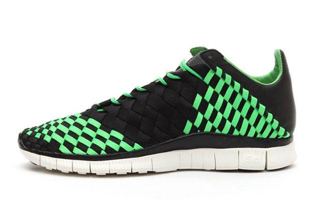 Nike Free Inneva Woven Spring 2013 Green Side 1
