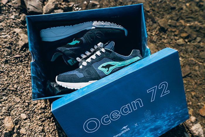 Bracenet Kangaroos Omnirun Ocean 72 Pair3 Box