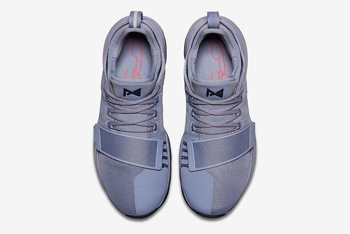 Nike Pg1 Glacier Greymidnight Navy 3
