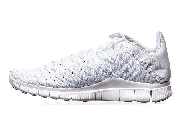 Nike Free Inneva Woven Triple White 2