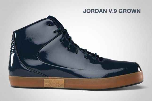Jordan V 9 Grown Blk 1