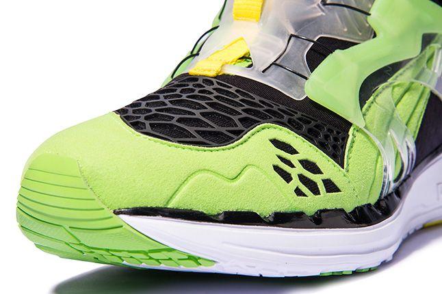 Puma Disc Blaze Ltwt Web Green Toe 1
