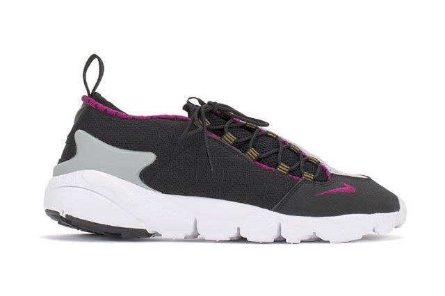 Footscape Blk Magenta Sideview