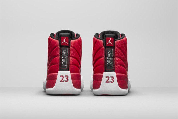 Nike Air Jordan 12 Retro Red White 3