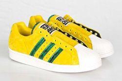 Adidas Ultrstar 80S Yellow Green Thumb