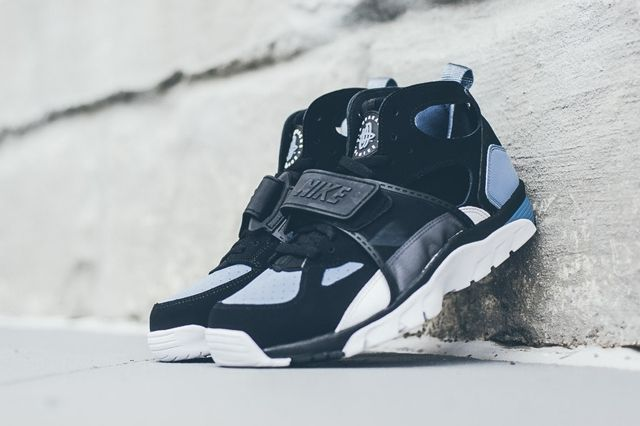 Nike Huarache Trainer Black Grey Bumper 7