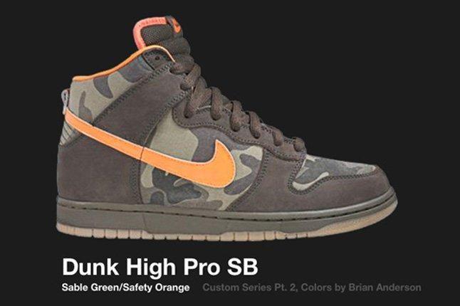 Nike Dunk Sb High Custom Series Brian Anderson 2006 2