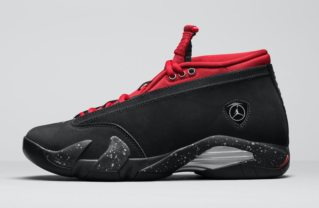 This Air Jordan 14 is Inspired by Red Lipstick