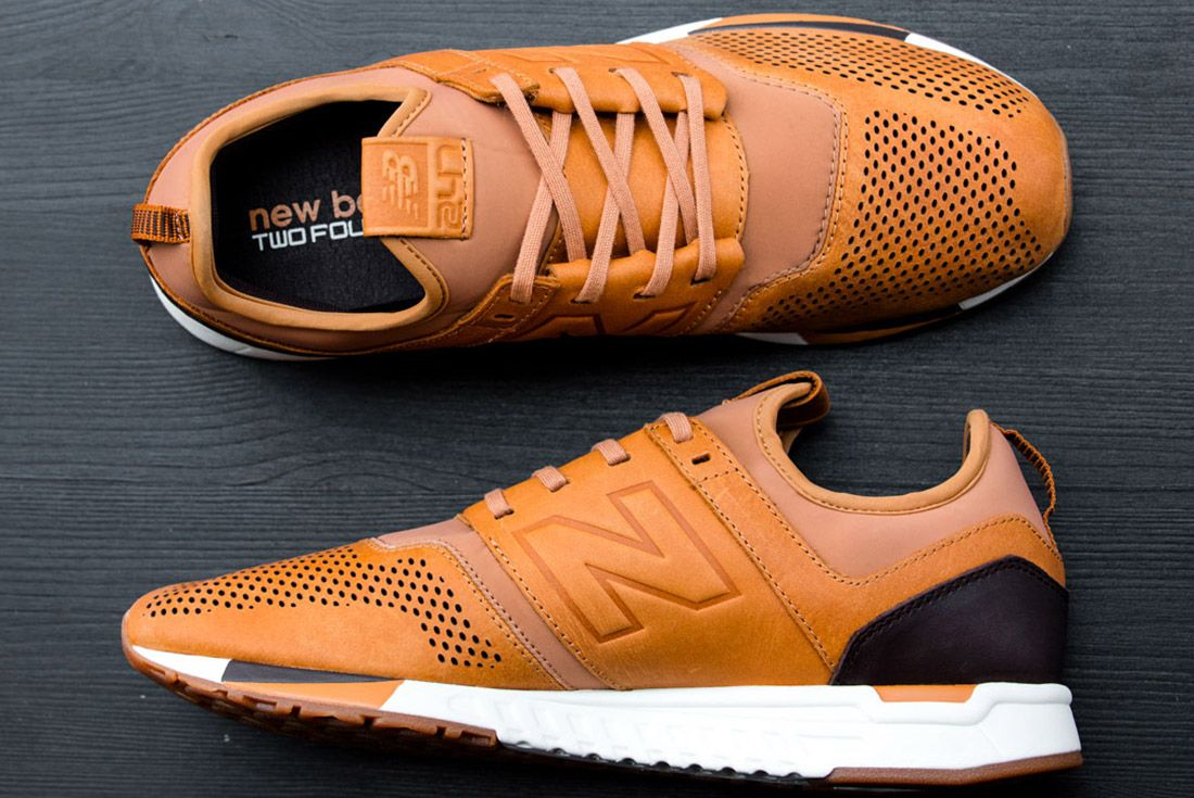 New Balance 247 Lux Brown Leather 1