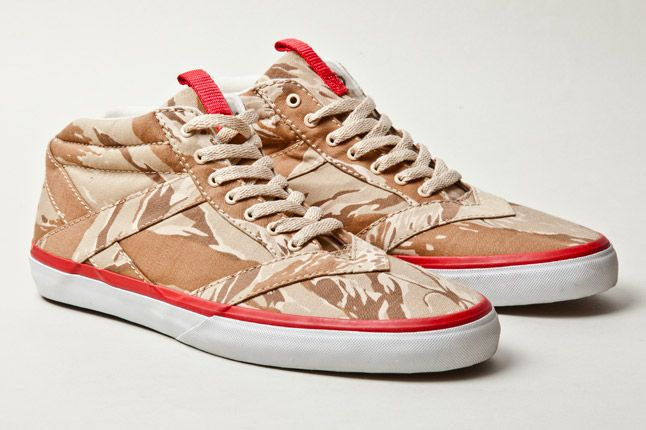 Losers Woodland Camo Brown Tan Red 3 1