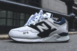 New Balance 878 White Black Thumb