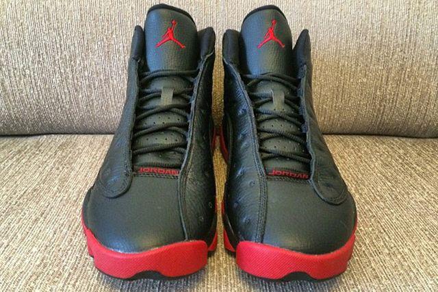 Air Jordan 13 Black Red 4