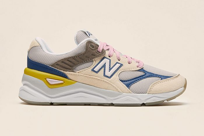 Reformation New Balance X 90 White Blue Release Date Lateral