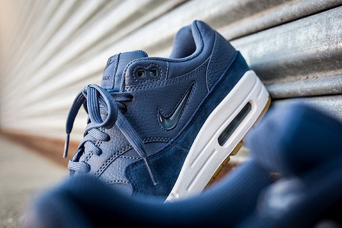 Nike Air Max 1 Jewel Womens Blue 2