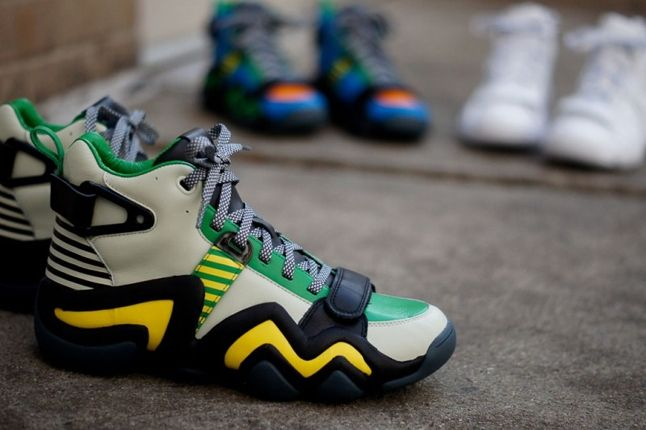 Adidas Opening Ceremony Crazy 8 Tennis Grey Midfoot Profile 1