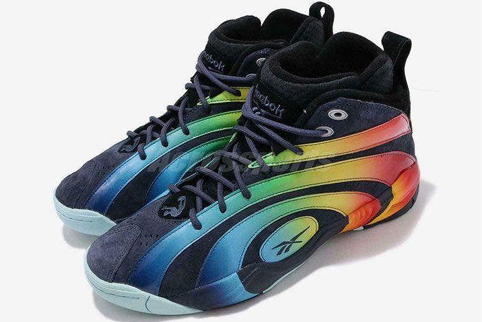 Reebok Shaqnosis Rainbow Left 2