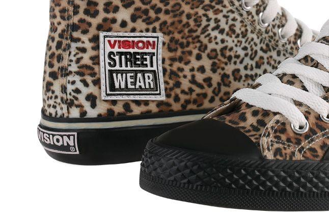 Vision Streetwear Womens Hi Canvas Toe Detail