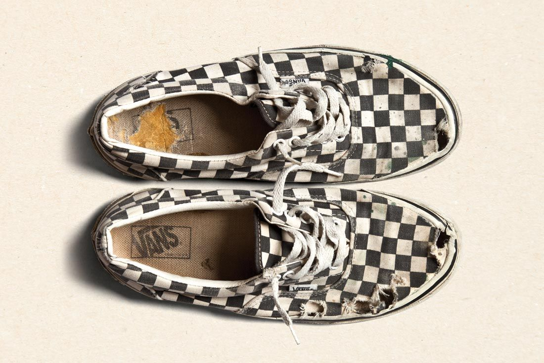 Vans History Slip On Checkerboard