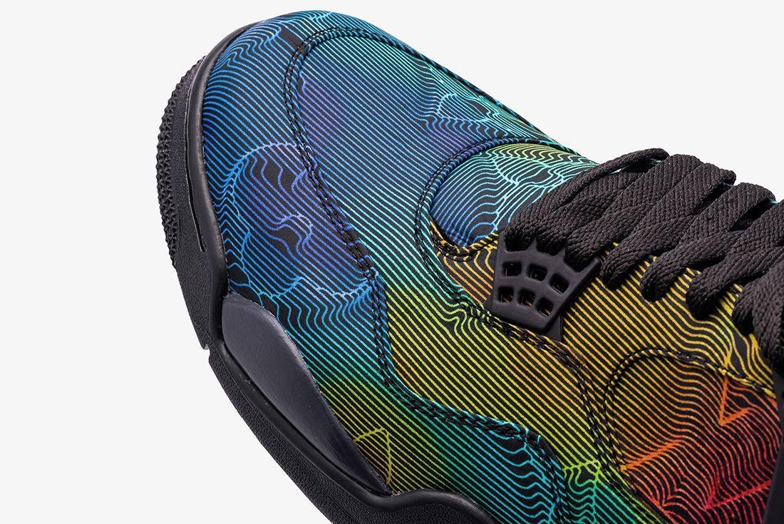Air Jordan 4 'LV 2054' shoe surgeon