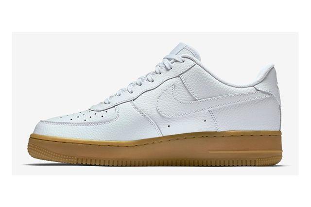 Nike Af1 White Gum 1