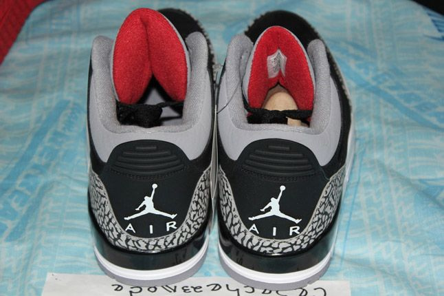 Air Jordan 3 Black Cement Suede Sample 10 1
