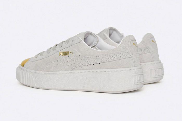 Puma Suede Platform White 5