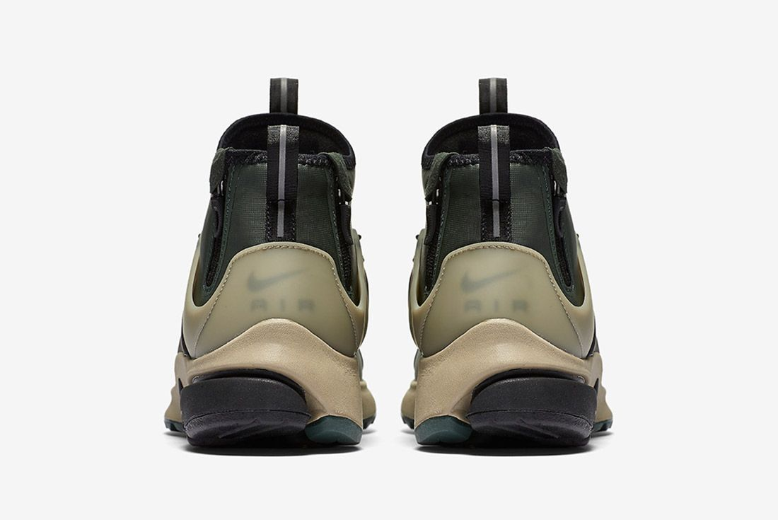 Nike Air Presto Utility Mid Grove Green 2