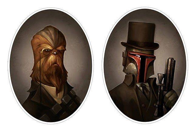 Star Wars Portraits By Greg Peltz 2 1
