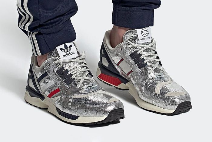 Concepts Adidas Zx 9000 Silver Metallic Release Date Official 1