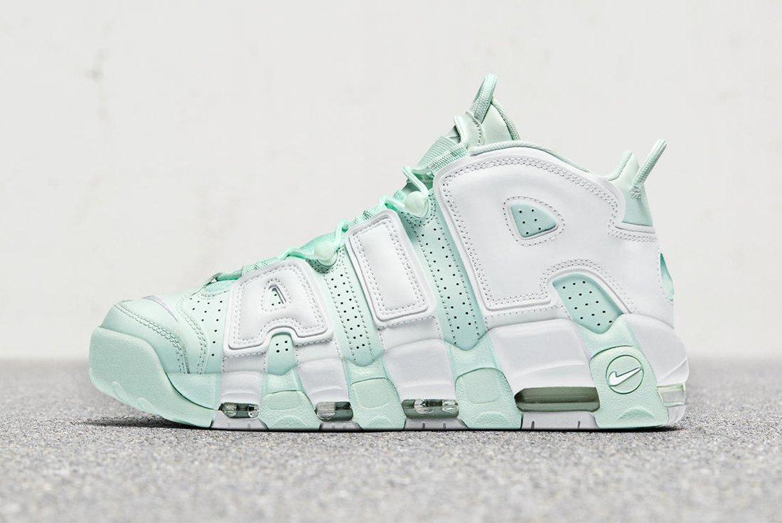Nike Air More Uptempo Barely Green 2