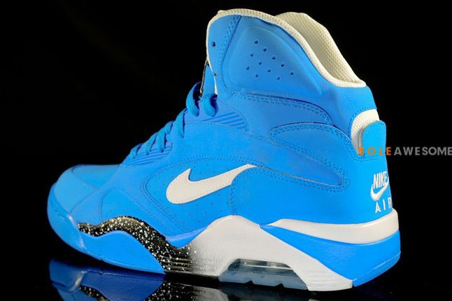 Nike Air Force 180 High Photo Blue Quaterback 1