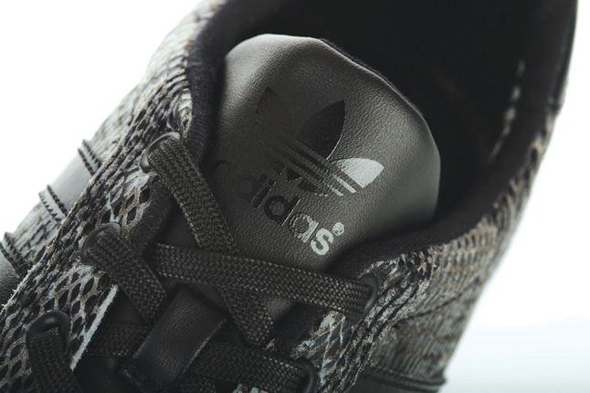 Adidas Mc Low Snake Skin Black Tongue Detail 1