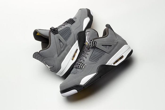 Air Jordan 4 Cool Grey First Look 308497 007 Release Date Pair