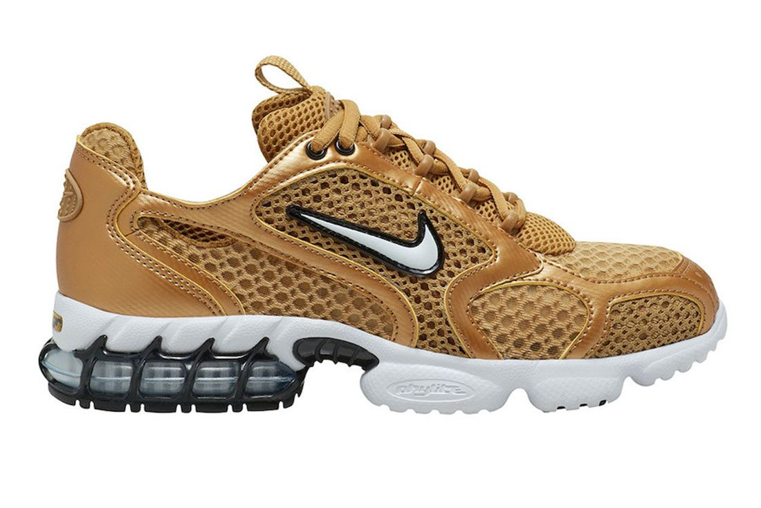 Nike Zoom Spiridon Cage 2 Gold Lateral
