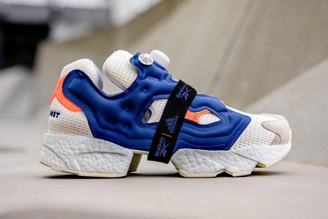 Reebok Adidas Instapump Fury Boost Prototype Sneaker Freaker Side