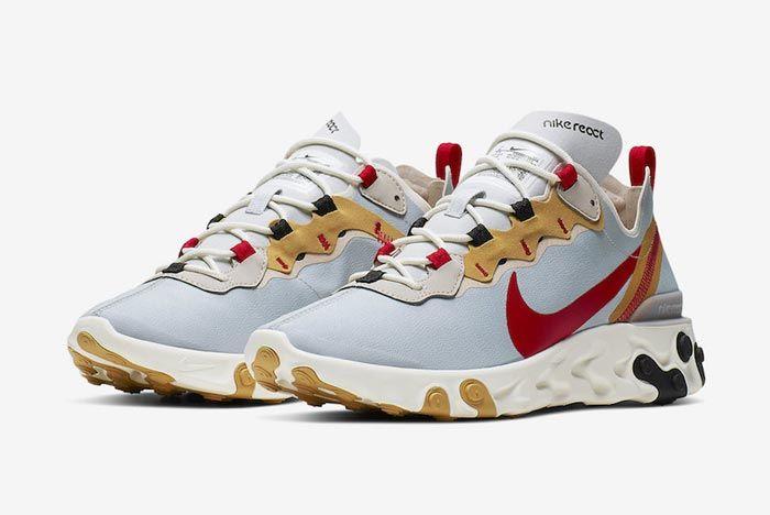 Nike React Element 55 Desert Sand Pair
