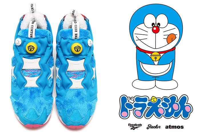 Atmos X Packer X Reebok Instapump Fury Doraemon 1