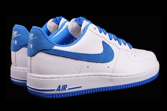 Nike Air Froce 1 Photo Blue Suede 2